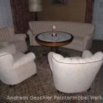 Altdeutsche Vollpolstergarnitur 4/1/1/1
