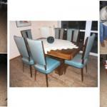 6 Stühle Art-Deco