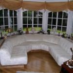Kombiniertes Chippendale-Wohn-/Esszimmer mit Erkergruppe - Foto Nr. 3