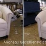 2 klassische kleine Sessel