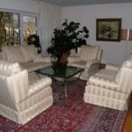 2 klass. Sofa/2 + 2 Sessel