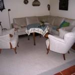 2 alte Chippendale-Sessel