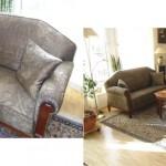 1 Sofa/3 + 2 Sessel