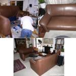 2 Sofa/2 Modell Dreipunkt