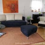 Rolf Benz-Sofas mit Hocker